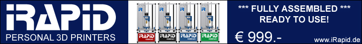 iRapid 3d Printer and Filaments