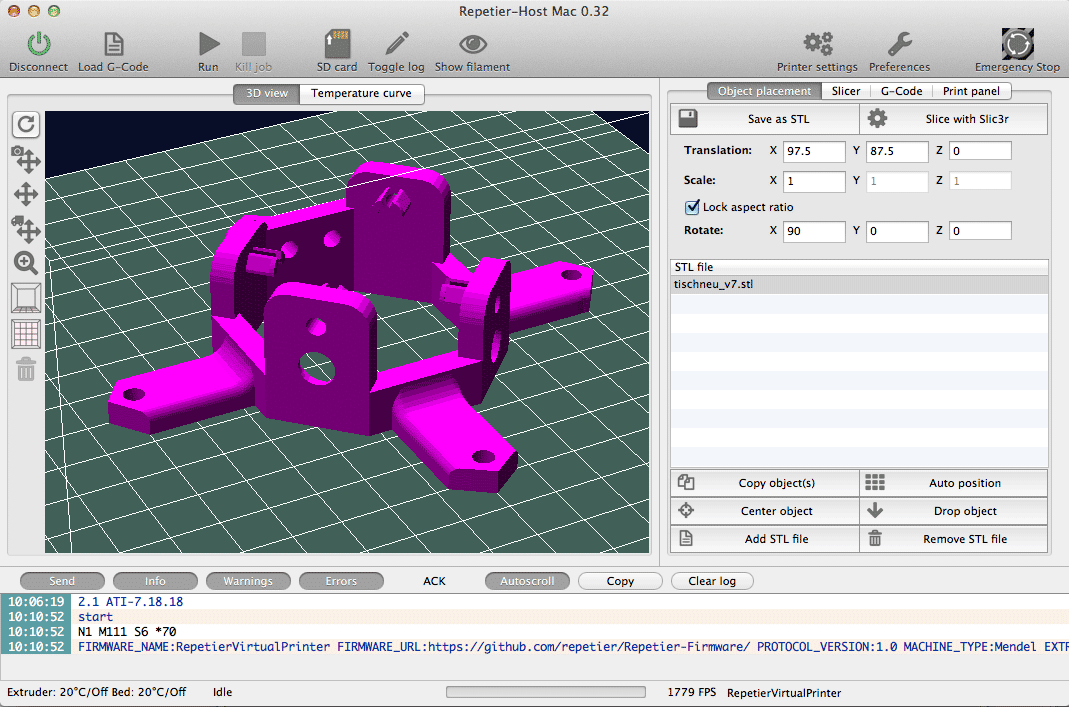 Repetier host mac documentation 3d printer design software