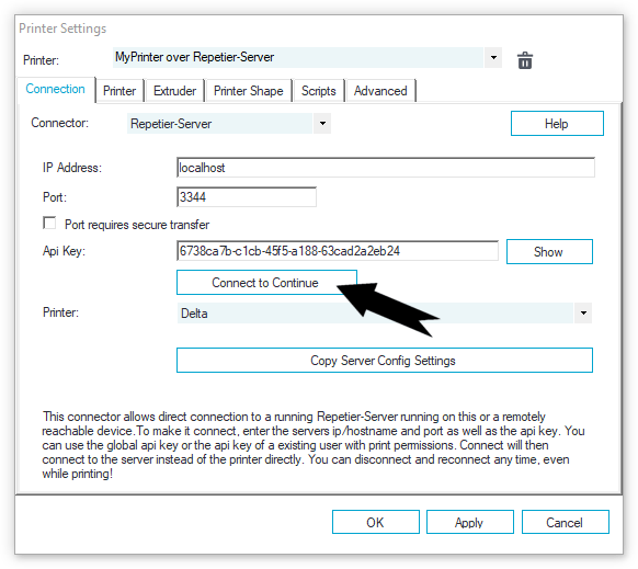 Connection Problems - Repetier Software